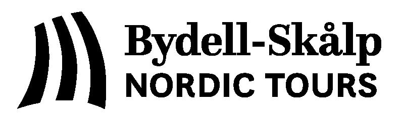 Bydell-Skålp Nordic Tours - one-color black logo