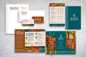 Sova Books and Coffee campaign
