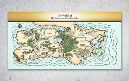 Sword and Rose Chronicles Map